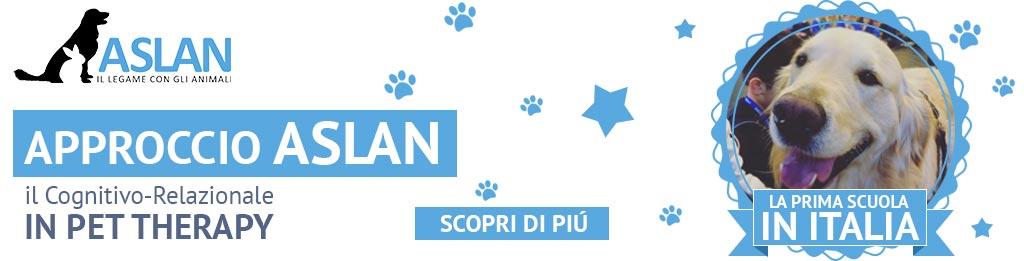 Approccio Aslan il cognitivo relazionale in pet therapy