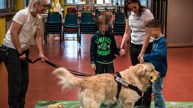 Pet school bimbi disabili