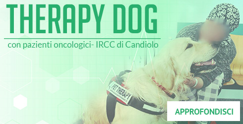 Progetto Therapy dog con pazienti oncologici dell'IRCC di Candiolo