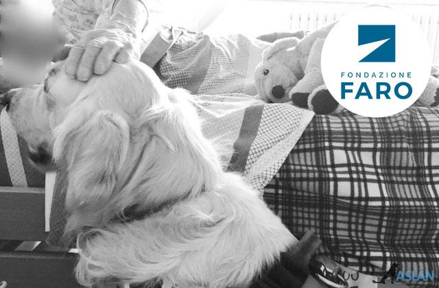Progetto Pet therapy Torino - Un Cane accanto sostenuta della fondazione F.A.R.O.