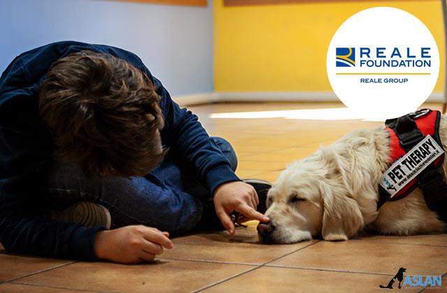 Progetto Reale Foundation - un Cane per amico - Pet therapy Torino