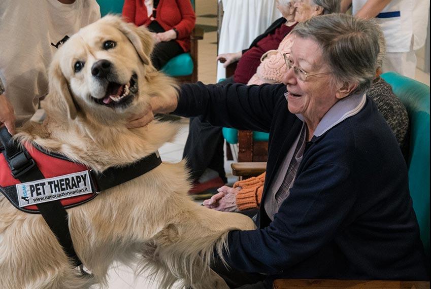Progetto Pet therapy - Therapy Dog - Progetto Specchio dei tempi