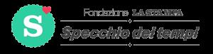 """Logo fondazione LA STAMPA """"Specchio dei tempi"""""""